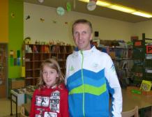 Obisk olimpijca Antona Kosmača